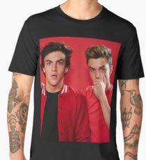 twins red Men's Premium T-Shirt