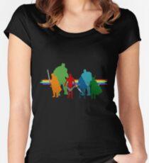 Rainbow Revengers Women's Fitted Scoop T-Shirt