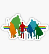 Rainbow Revengers Sticker