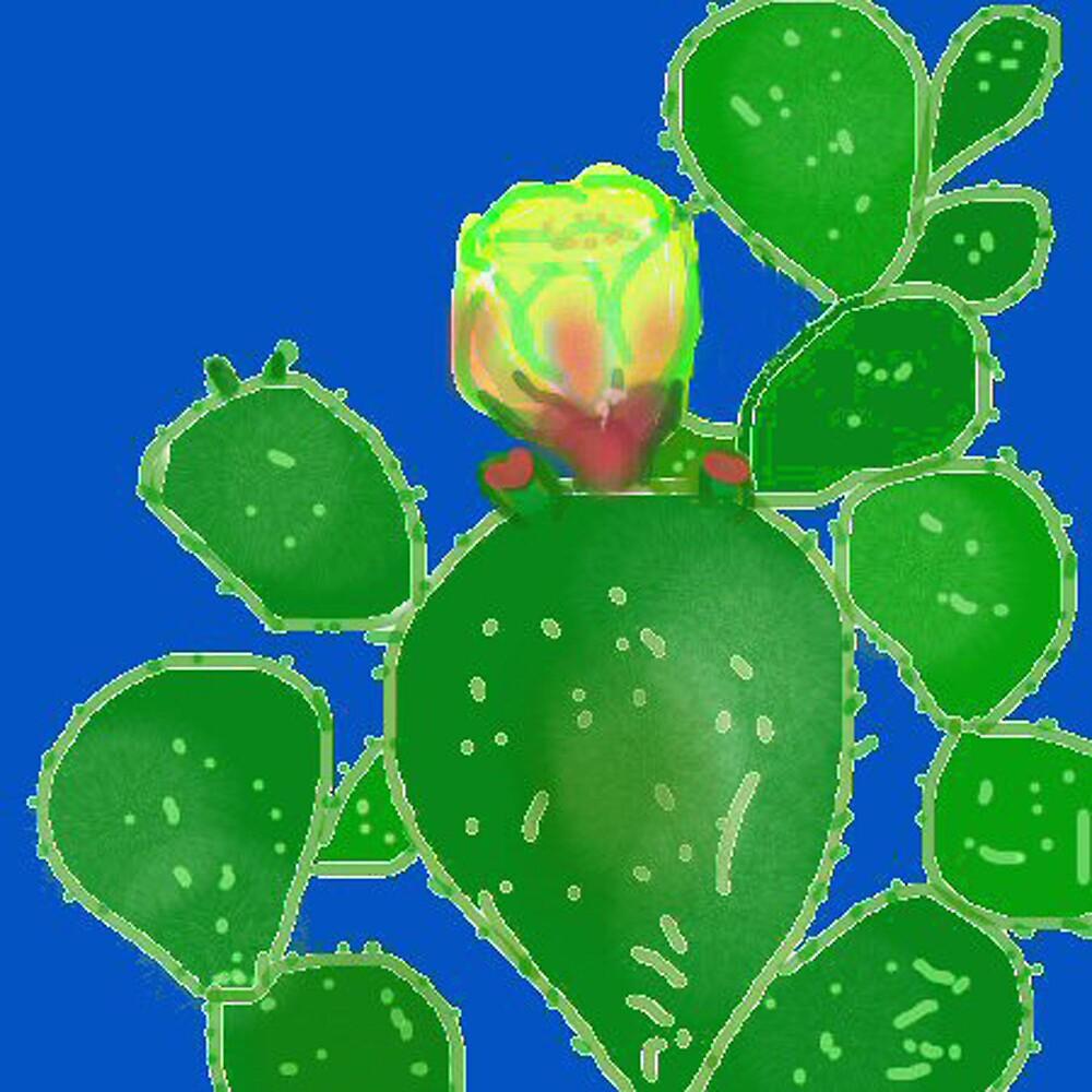 Flap Jack Cactus by Carole Boyd