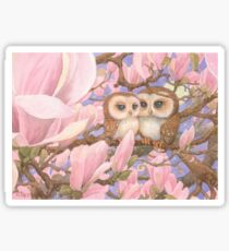Love Owls Sticker