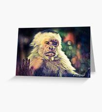 The Hopeless Ape Greeting Card