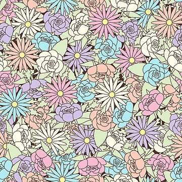 Floral pattern by TpuPyku