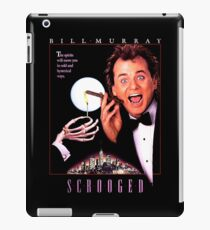 Scrooged - Bill Murray  iPad Case/Skin
