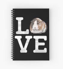 Love Guinea Pigs - Cute Guinea Pig Pet Lover Spiral Notebook