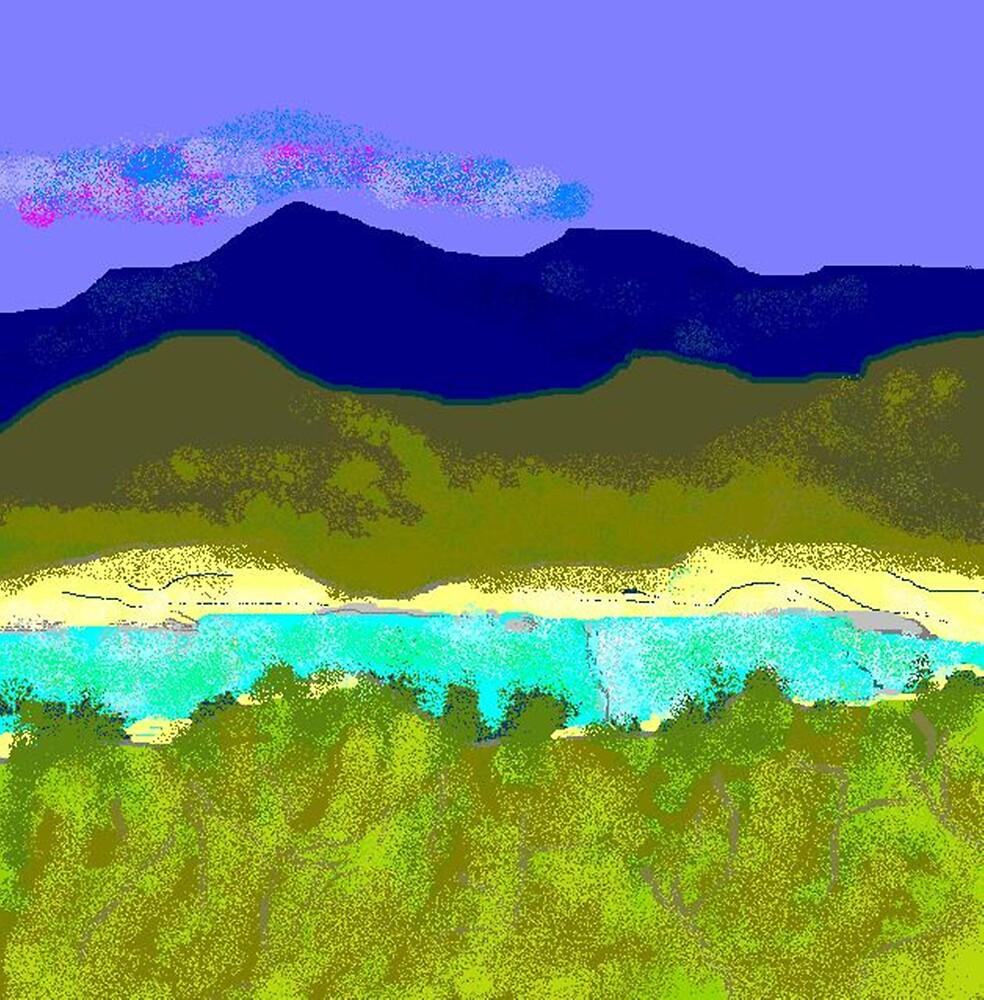 Medina River by Carole Boyd