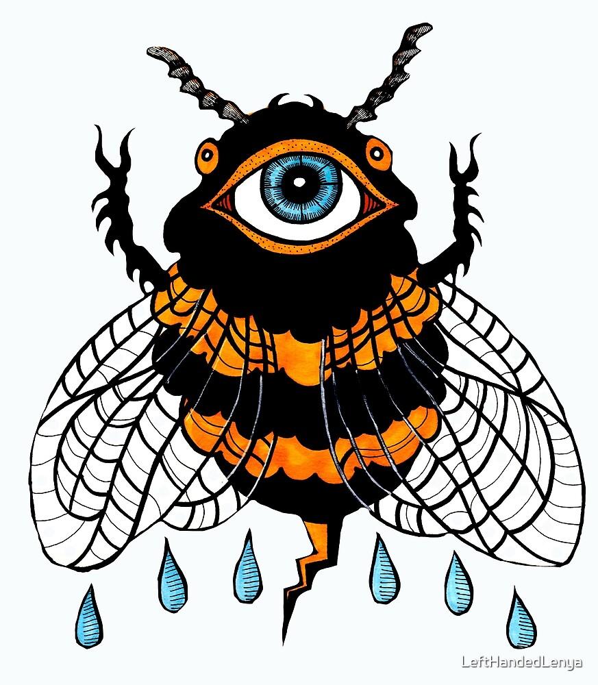 Cosmic Bee: the All-Seeing Pollinator by LeftHandedLenya