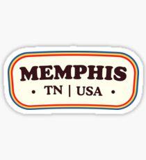 Pegatina Memphis   Insignia retro