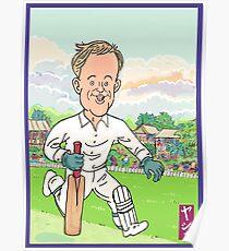 AB de Villiers Cricket Hero Poster