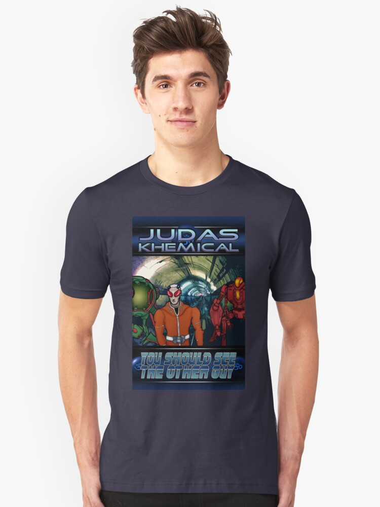 Judas Khemical preview cover Unisex T-Shirt Front