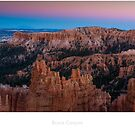 Bryce Canyon at sunset by Jacinthe Brault