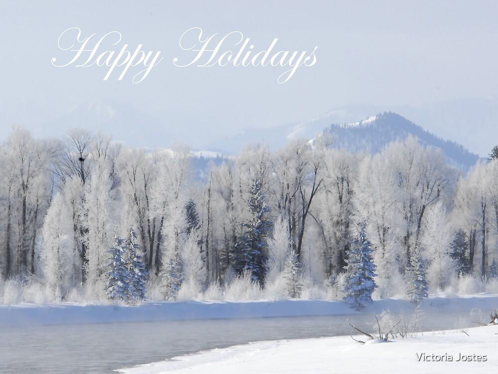Happy Holidays by Victoria Jostes