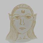 Phantom Huntress Portrait by beckytide