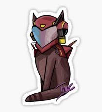 Halo Vale Cat Sticker