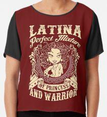 Latina Perfect Mixture Of Princess And Warrior Chiffon Top