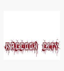 Resident Evil Raccoon City Photographic Print