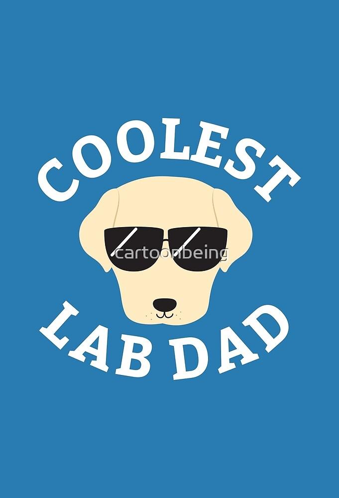 Coolest Lab Dad by cartoonbeing