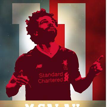 Mo Salah   Liverpool FC by spaghetees