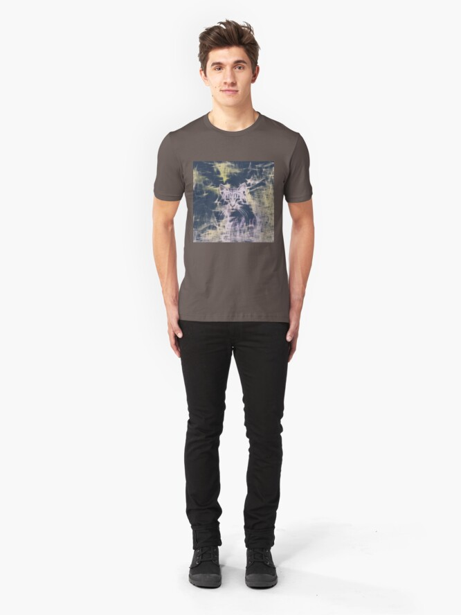 Alternate view of Linify Cat Slim Fit T-Shirt