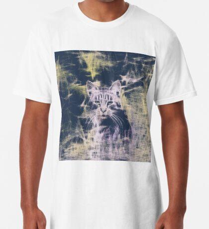 Linify Cat Long T-Shirt