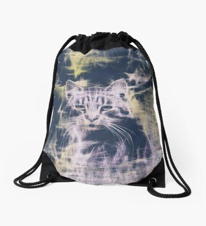 Linify Cat Drawstring Bag