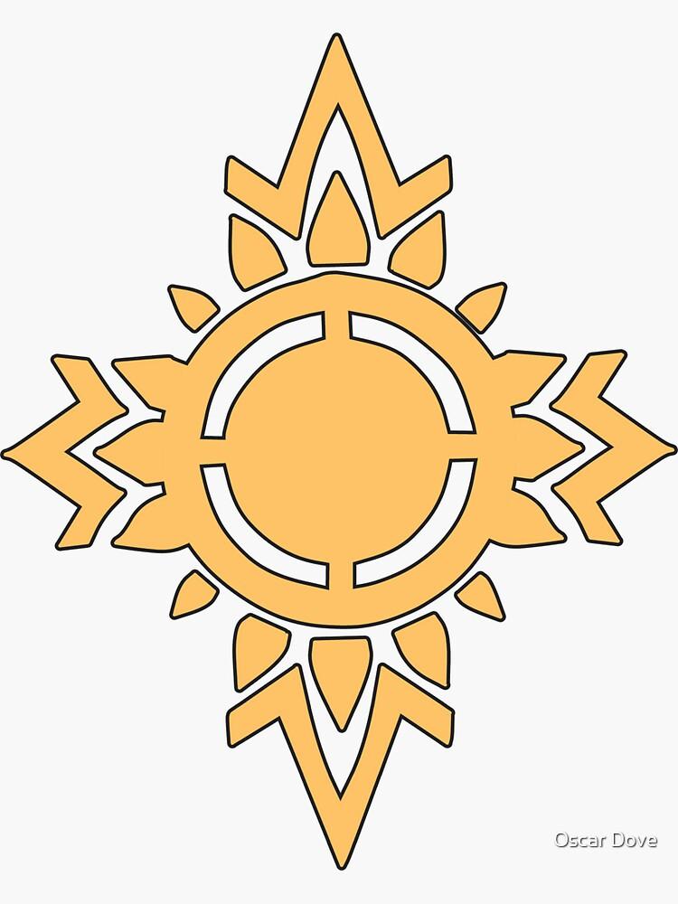 Rohirrim Schild Emblem von OscarD