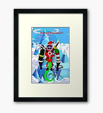 Merry Christmas PackRat(Adventure Time style)  Framed Print