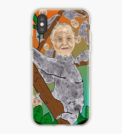 Planet Sir Sloth  iPhone Case