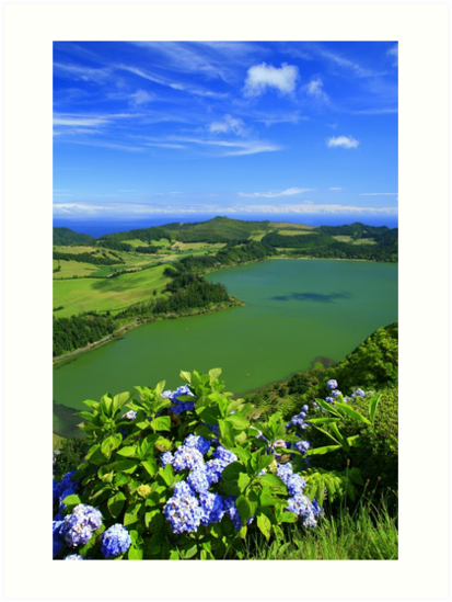 Furnas Lake, Azores by Gaspar Avila