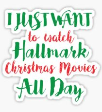 CHRISTMAS HALLMARK Sticker