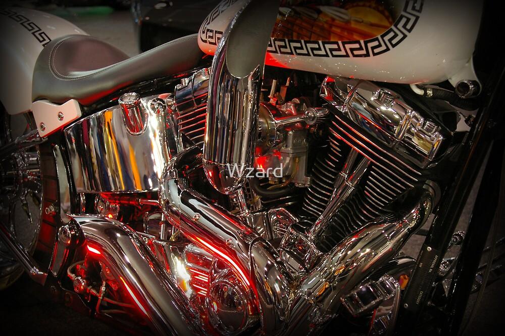 Motor Bike One by Wzard