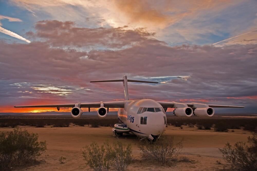 Edwards AFB Sunrise by gfydad