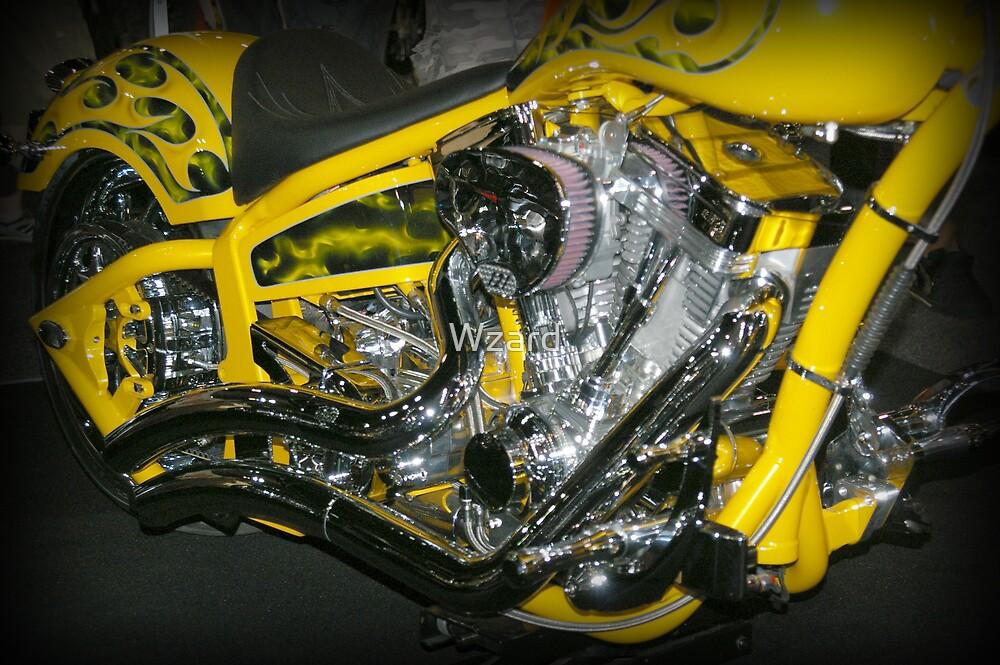Motor Bike Six by Wzard