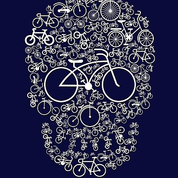 Bicycle Skull by Skullz23