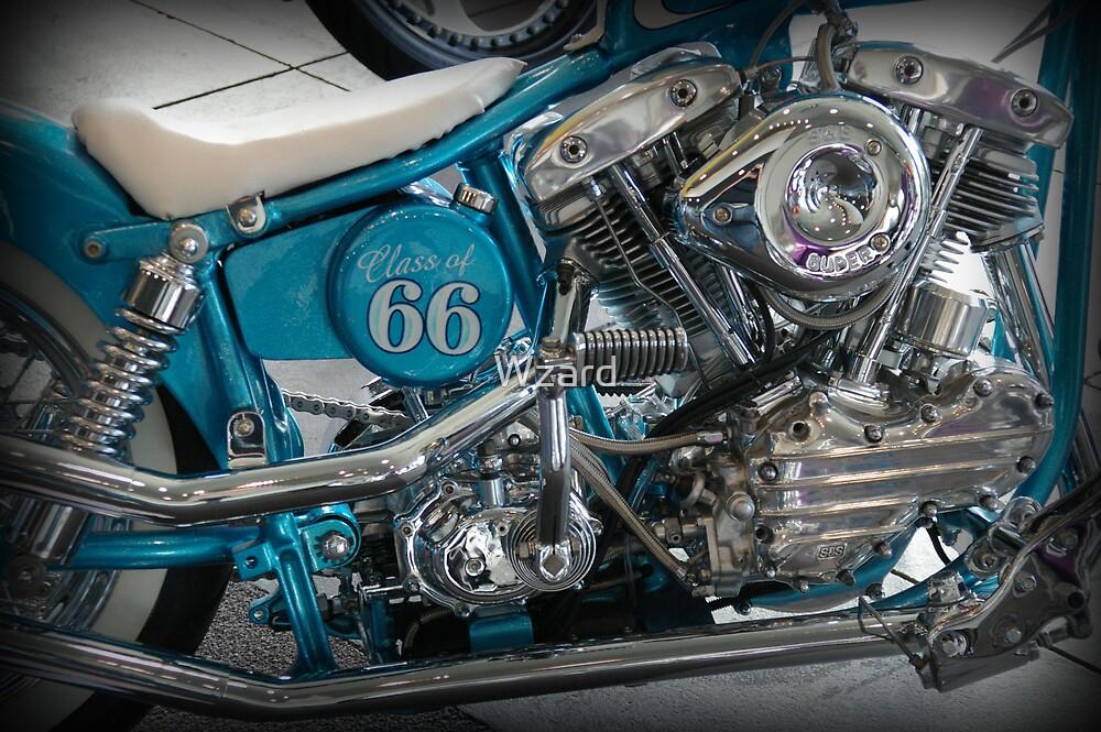 Motor Bike Five by Wzard