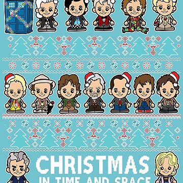 Lil Doctors Christmas Jumper with Added 13 by TopNotchy