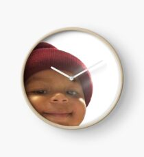 Honey Bun Baby Clock