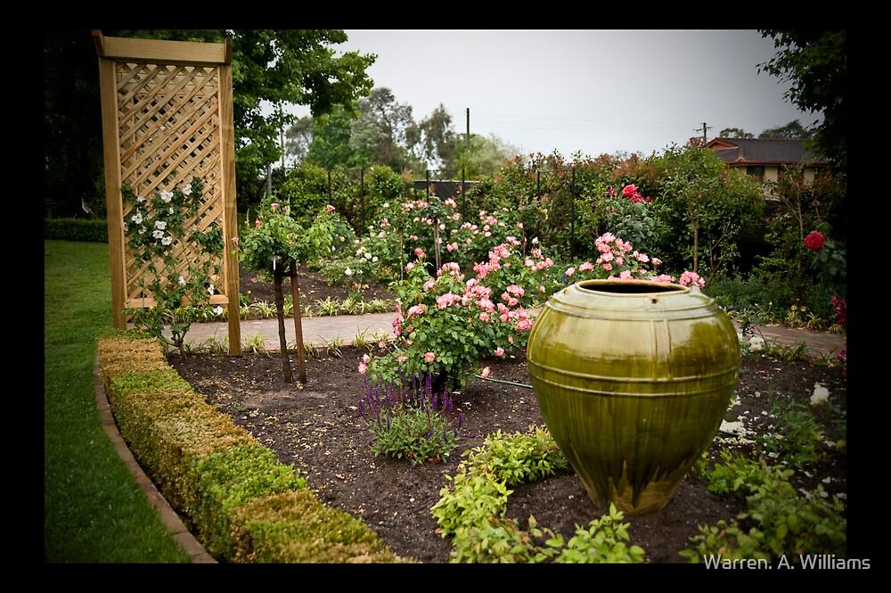 The Garden 1 by Warren. A. Williams