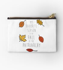 My Favorite Season Is The Fall Of The Patriarchy Zipper Pouch