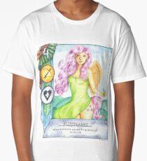 Fluttershy Gwent Card Long T-Shirt