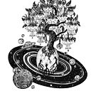 «Espacio fucsia Árbol de la vida» de Ruta Dumalakaite