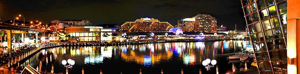 Darling Harbour Panorama by satwant