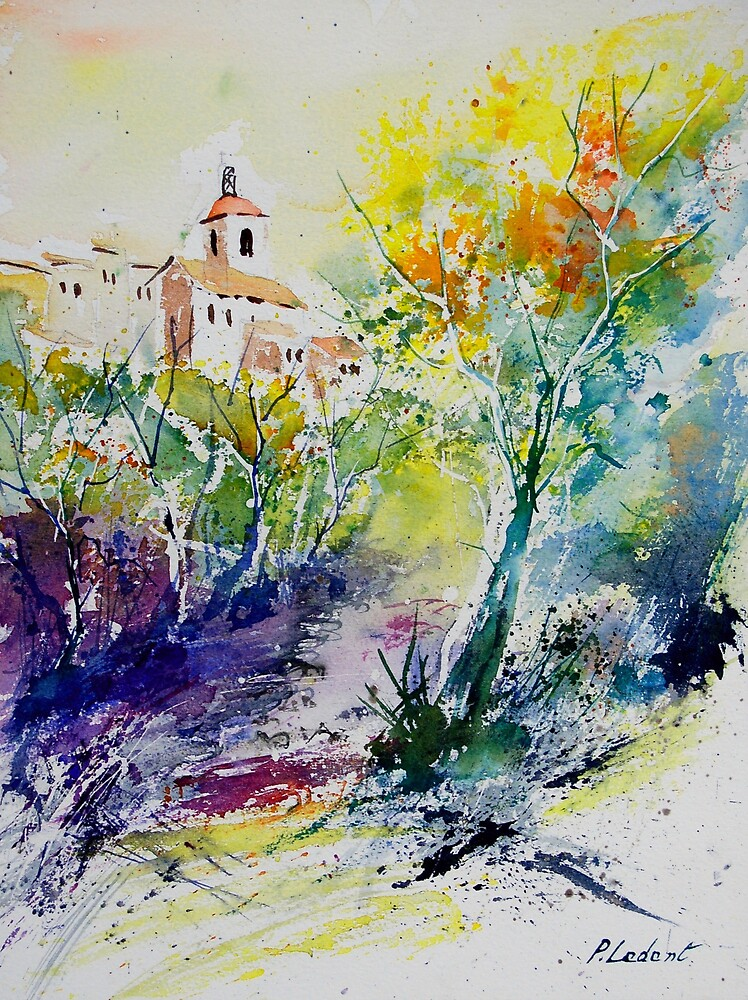 watercolor 011108 by calimero