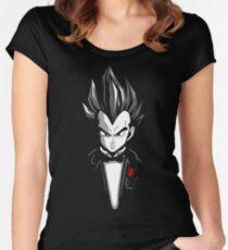Dragon Ball Z - Vegeta Godfather Women's Fitted Scoop T-Shirt