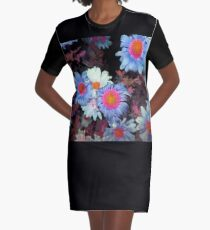 pretty colored mums 11/18/17 Graphic T-Shirt Dress