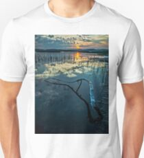 Lake Champlain Vermont Sunrise 1 - Portrait T-Shirt
