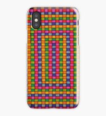 Colorful Square Pattern iPhone Case/Skin