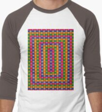 Colorful Square Pattern T-Shirt