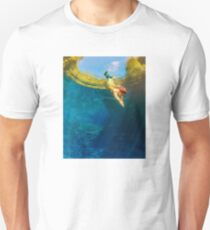 painting marine panoramic landscape of Brazil T-Shirt