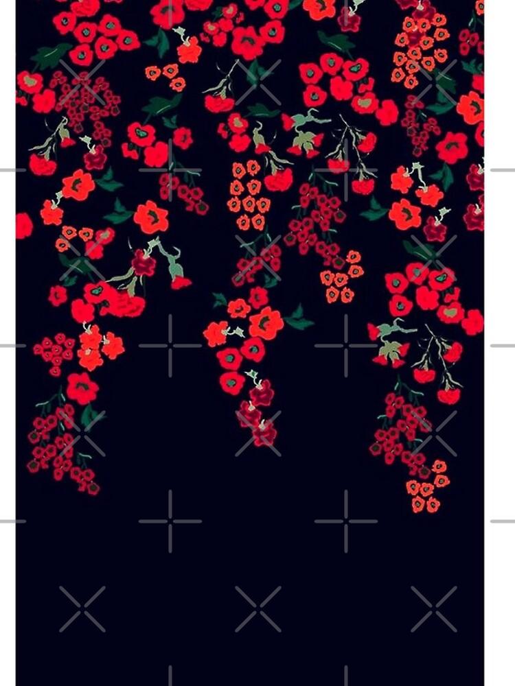 Rouge im schwarzen Iphone Fall von wildberriesph